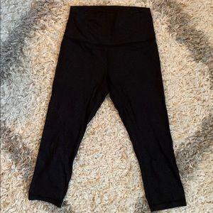 Lululemon cropped athletic leggings